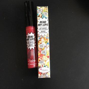 Photo of Thebalm the Balm Read My Lips Lip Gloss uploaded by Sandra V.