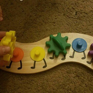 Melissa and Doug Caterpillar Gear Toy Ages 18 months+, 1 ea uploaded by Megan R.