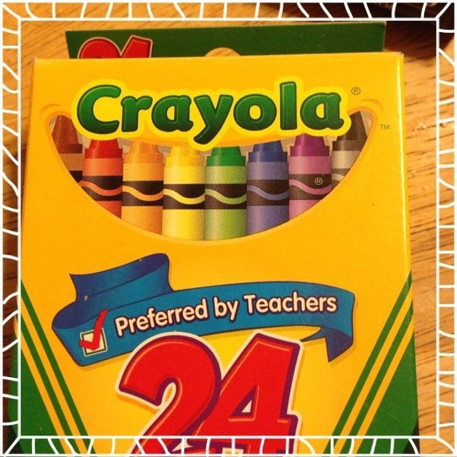 Crayola 24ct Crayons uploaded by Ani S.