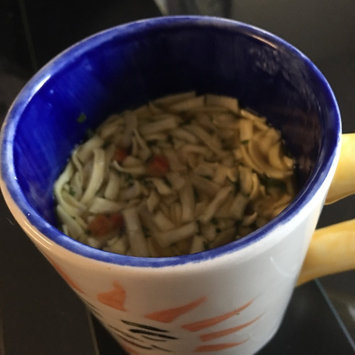 Photo of Campbell's® Fresh-Brewed Soup Homestyle Chicken Broth & Noodle Soup Mix Coffee Podss uploaded by Joelyn M.