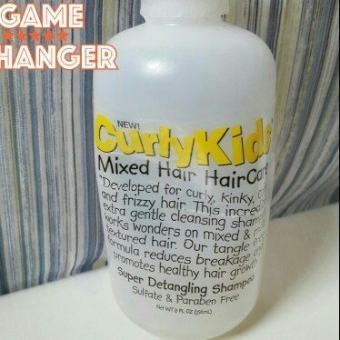 Curly Kids Mixed Hair Haircare Super Detangling Shampoo uploaded by Niki A.