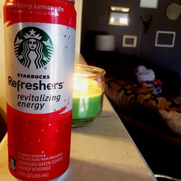 Photo of STARBUCKS® Refreshers® Strawberry Acai Lemonade VIA® Ready Brew uploaded by Erin W.
