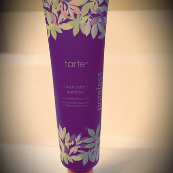 Photo of tarte Clean Slate™ Poreless 12-Hr Perfecting Primer uploaded by L F.