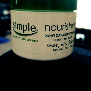 Photo of Simple Nourishing 24-hour Facial Cream - 1.7 oz uploaded by lauren h.