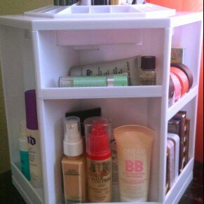 Photo of Tabletop Spinning Cosmetic Organizer by Lori Greiner uploaded by Isela C.