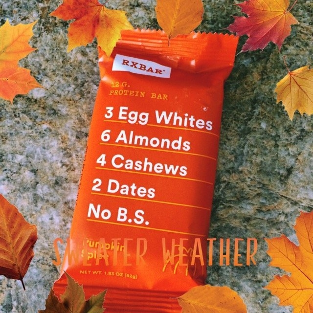 Rx Bar Protein Bar, Pumpkin Spice, 4.5 Pound (Pack of 12) uploaded by Tiffany B.