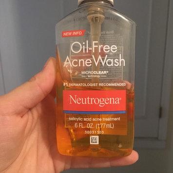 Neutrogena Oil-Free Acne Wash uploaded by Julia J.