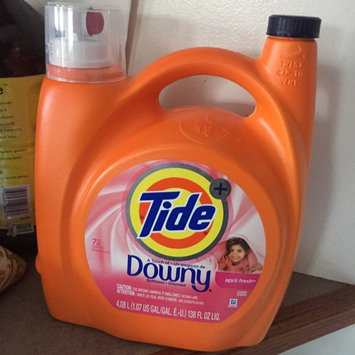 Tide Plus a Touch of Downy April Fresh Scent Liquid Laundry Detergent 138 fl. oz. Bottle uploaded by Ana J.