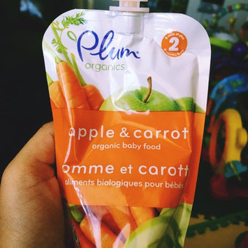Photo of Plum Organics Organic Baby Food Apple & Carrot  Stage 2 uploaded by Ysabel M.