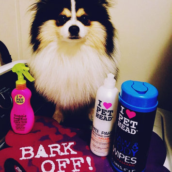 Pet Head My Paws Rock! Orangelicious Grooming Wipes 50 Count uploaded by Jessica H.
