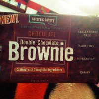 Nature's Bakery Double Chocolate Brownie Chocolate 6 Twin Packs uploaded by Daniela M.