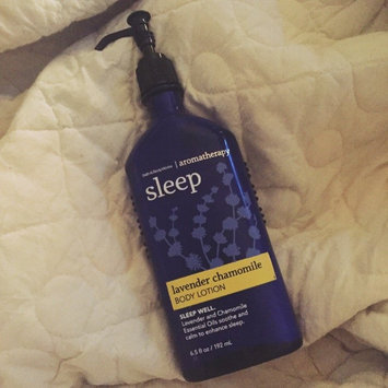 Photo of Bath Body Works Aromatherapy Sleep Lavender Chamomile 6.5 oz Body Lotion uploaded by Megan R.