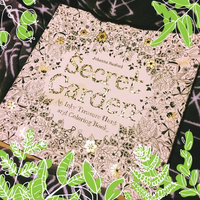 Secret Garden: An Inky Treasure Hunt and Coloring Book uploaded by Magen K.