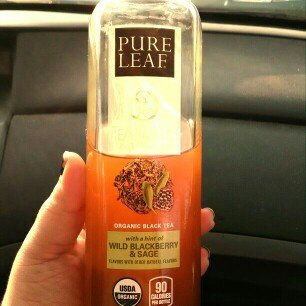 Photo of Pure Leaf® Tea House Collection Wild Blackberry & Sage Organic Black Tea 14 fl. oz. Bottle uploaded by Alexandra S.