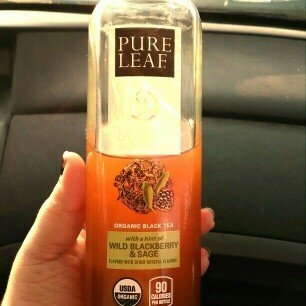 Pure Leaf® Tea House Collection Wild Blackberry & Sage Organic Black Tea 14 fl. oz. Bottle uploaded by Alexandra S.