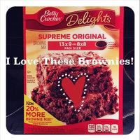 Betty Crocker™ Supreme Original Brownie Mix uploaded by Gabriella S.
