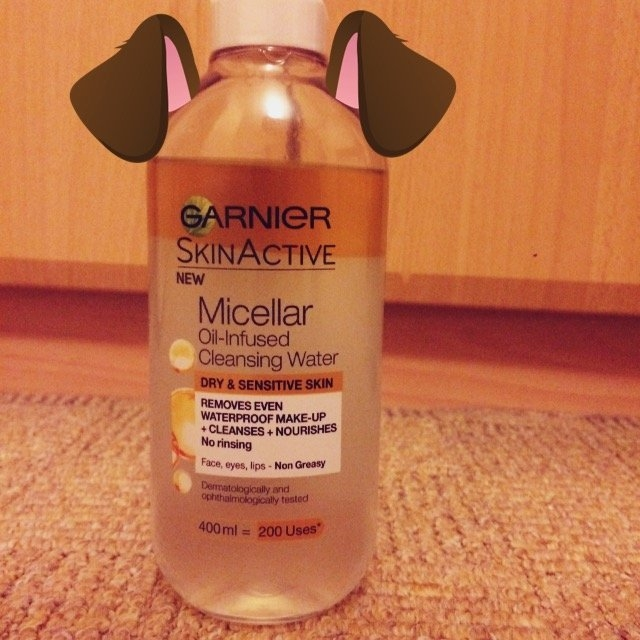 Garnier Micellar Cleansing Water for Combination & Sensitive Skin uploaded by Marian S.