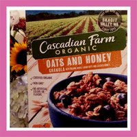 Cascadian Farm Organic Granola Cereal Oats and Honey uploaded by Jamie D.