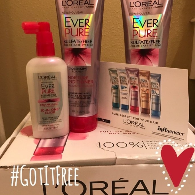 L'Oréal EverPure Moisture Conditioner uploaded by Katie N.