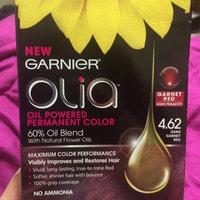 Garnier® Olia® Oil Powered Permanent Hair Color 4.62 Dark Garnet Red uploaded by Jeanette M.