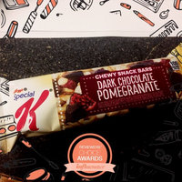 Special K® Kellogg's Dark Chocolate Pomegranate Chewy Snack Bar uploaded by Jessi H.