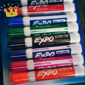 Photo of Expo 2 Low-Odor Dry Erase Markers, Chisel Tip, 8-Pack, Fashion Colors (1743032) uploaded by Margaret M.