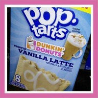 Pop-Tarts Dunkin' Donuts' Frosted Vanilla Latte Toaster Pastries uploaded by Kayla H.