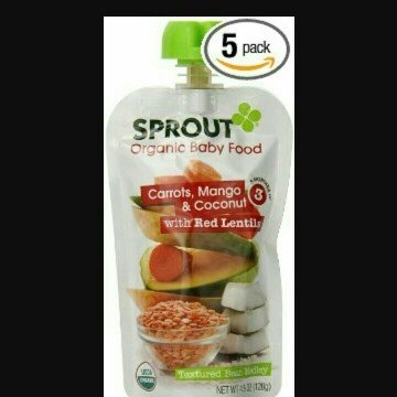 Sprout Organic Baby Food Pouch uploaded by ashleigh l.