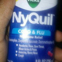 Vicks NyQuil Cold & Flu Nighttime Relief Cherry Flavor Liquid uploaded by Michael R.