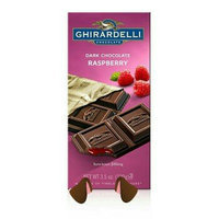 Ghirardelli Chocolate Dark & Raspberry Bar uploaded by Rendi D.