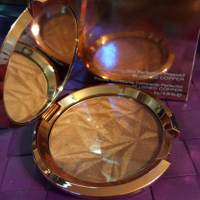 BECCA Limited Edition Shimmering Skin Perfector Pressed Blushed Copper 0.28 oz uploaded by Genny E.