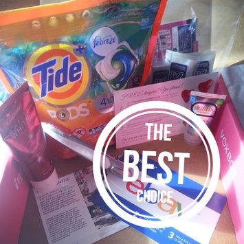 Photo of Tide PODS® Plus Febreze™ Laundry Detergent uploaded by Katie D.