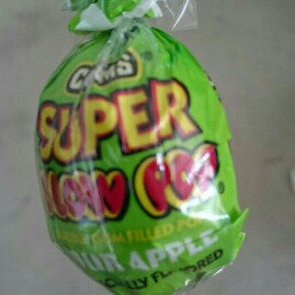 Charms Blow Pop Sour Apple uploaded by Heather N.