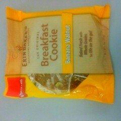 Photo of Erin Baker's Banana Walnut Breakfast Cookie, 3 oz, (Pack of 12) uploaded by Raj F.