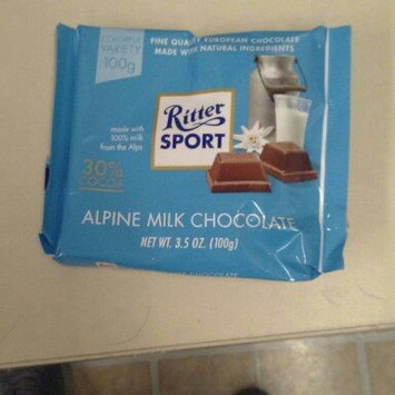 Photo of Ritter Sport Alpine Milk Chocolate uploaded by Rose B.