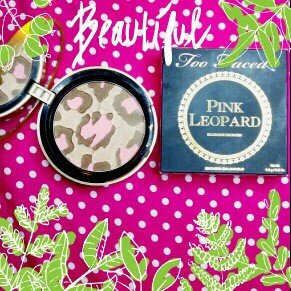 Too Faced Pink Leopard Blushing Bronzer uploaded by Ana A.