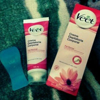 Veet Hair Removal Gel Cream for Normal Skin + Perfect Touch Tool 150ml/5.1 oz uploaded by Gabbs A.