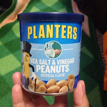 Planters Sea Salt & Vinegar Peanuts 6 oz. Canister uploaded by Karla  I.