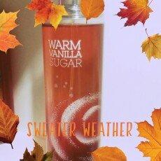 Bath & Body Works Warm Vanilla Sugar Fine Fragrance Mist uploaded by Jazlyn F.