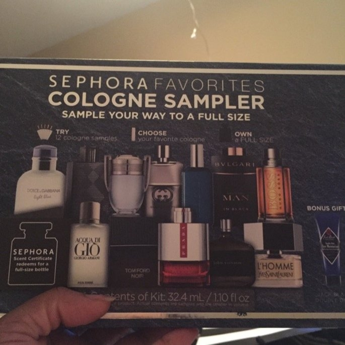 Sephora Favorites Cologne Sampler uploaded by Brooke S.