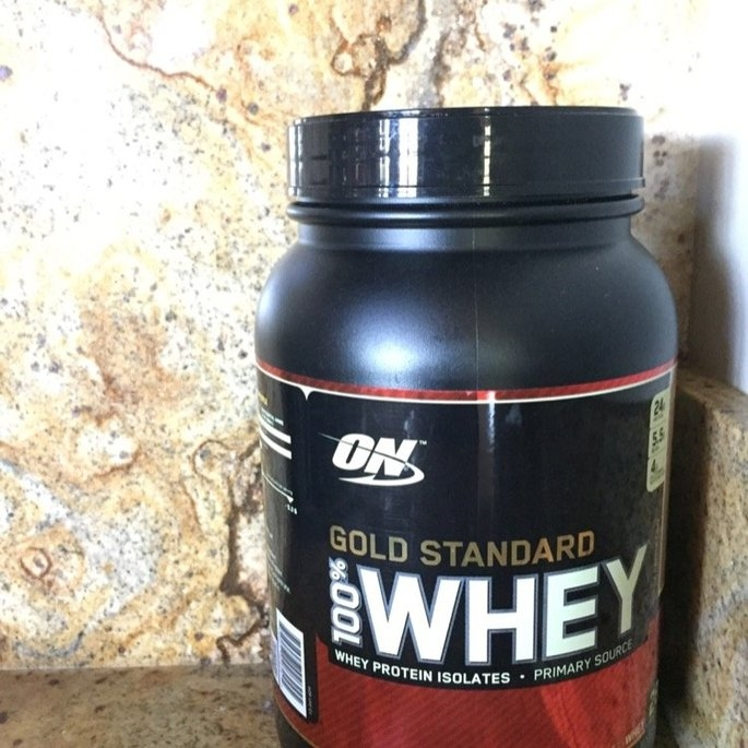 Optimum Nutrition Gold Standard Natural 100% Whey Protein uploaded by Olivia V.