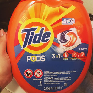 Photo of Tide PODS® Laundry Detergent Original Scent uploaded by Veronica L.