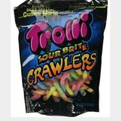 Trolli Sour Brite Octopus Gummi Candy uploaded by Brylee G.