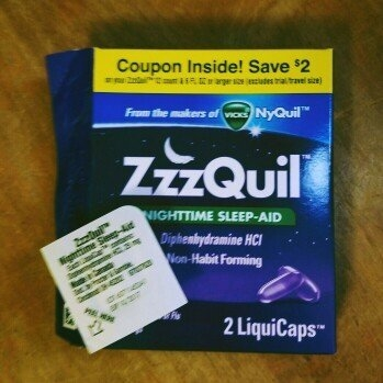 ZzzQuil Nighttime Sleep-Aid Liquid, Warming Berry uploaded by Rosie J.