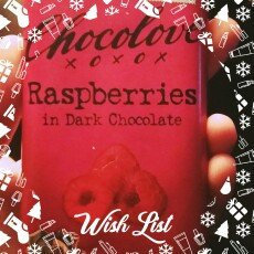 Chocolove Raspberries in Dark Chocolate uploaded by Angelica G.