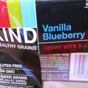 Photo of KIND® Granola Bar Vanilla Blueberry uploaded by Jennifer h.