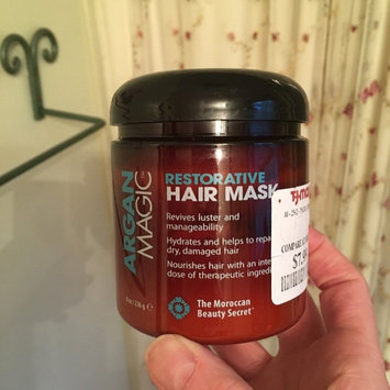 Photo of Argan Magic Restorative Hair Mask 8 Oz. Jar by Jocott Brands [1 Pack] uploaded by Sherri H.