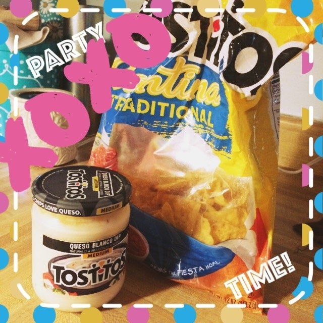 Tostitos Queso Blanco Dip Medium uploaded by Kadance H.