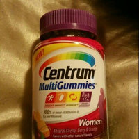 Centrum MultiGummies Women, Cherry, Berry, Orange uploaded by Crystal B.