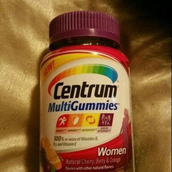 Centrum MultiGummies Women, Cherry, Berry, Orange uploaded by Crystal B.